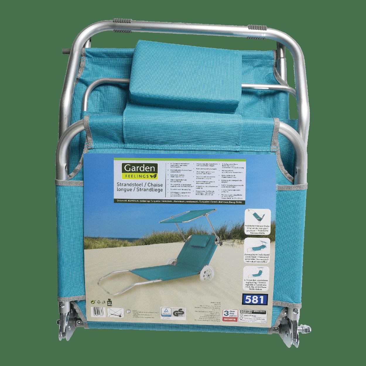 chaise de plage aldi